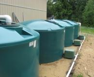 Rainwater Storage Nanaimo, BC- Courtesy of Jaan Designs