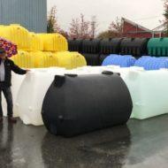 Raindrop tank