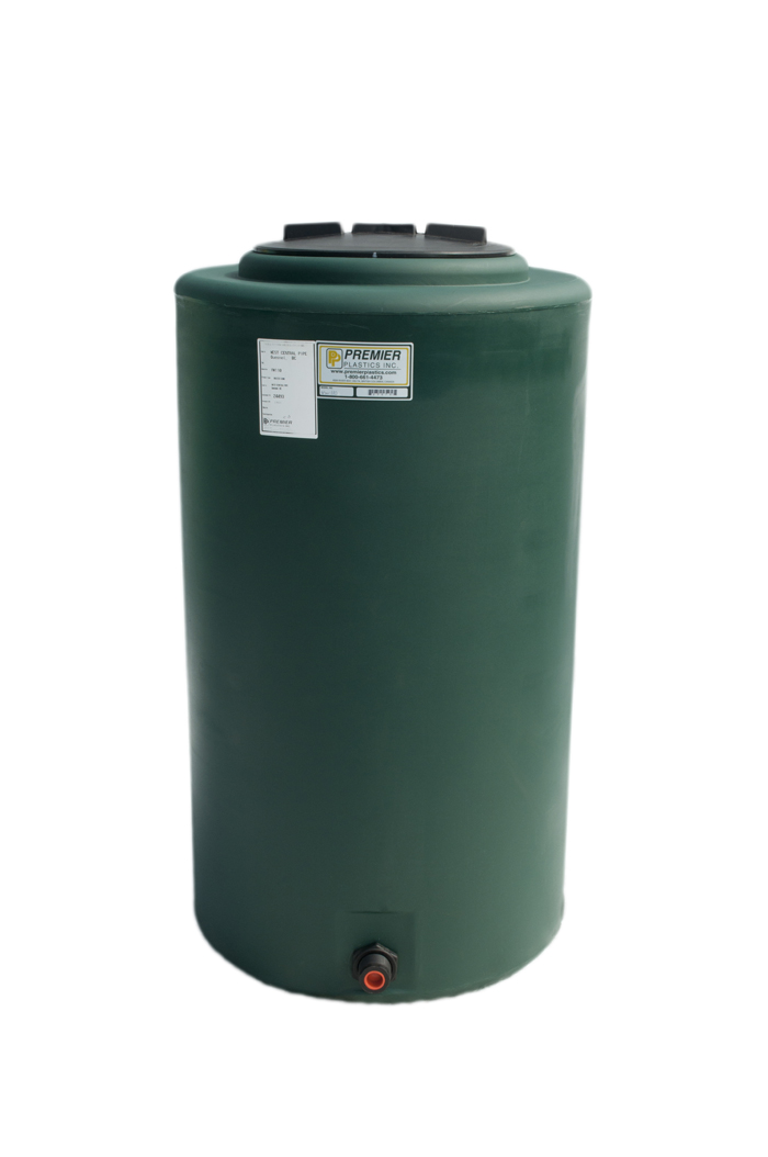 Premier Plastics Inc | 1-800-661-4473 - Vertical Tanks