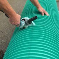 Cutting Ultra Rib Pipe