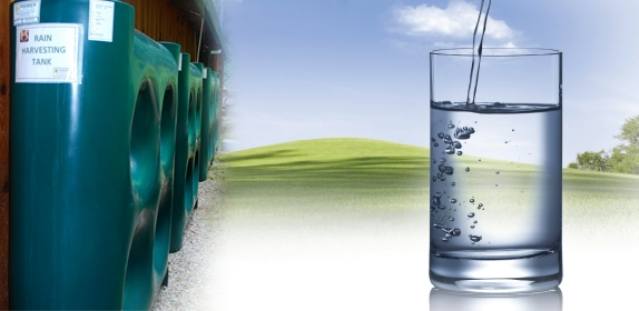 Rainwater - potable drinking water