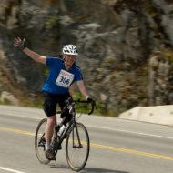 John riding in 2011